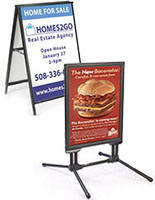 Sandwich Signs for Posters