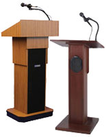 Podiums with Sound