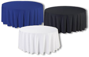 Discount Round Tablecloths