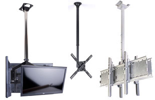 Ceiling Tv Mounts Single Multiple