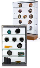 Use these collectors display cases to showcase your favorite memorabilia.
