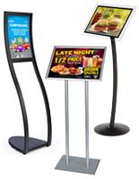Restaurant Sign Holders Sidewalk Signs Menu Boards