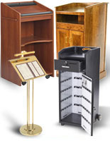 Valet & Hostess Podiums