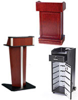Hostess Stations & Valet Podiums