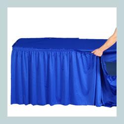 best selling table skirt