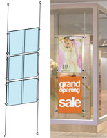 These Sign Systems are Ideal for Window Displays