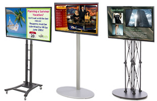 Digital Signage Floor Kits