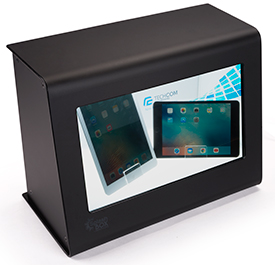 Transparent LCD Display Showcase