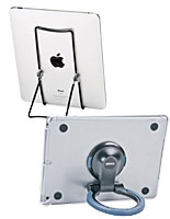 iPad Desktop Mounts with Fixed and Rotating Enclosures