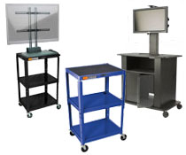 Video Projector Carts & AV Trolleys