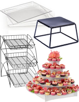 buffet display stands for restaurant and catering businesses