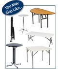 Plasric Folding Tables