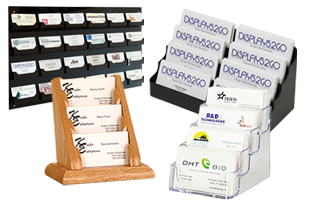 Business card display holders acrylic wood metal dispensers multi pocket business card holders colourmoves