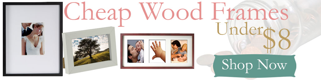 Cheap Wood Picture Frames