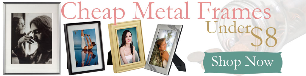 Metal Picture Frames Photo Framing At Volume Discount Prices