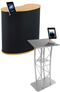 ipad presentation stands