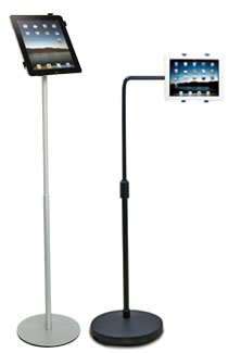 ipad floor stands without locks