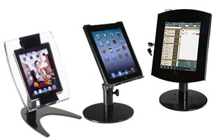 Secure iPad Mounts with Locking Enclosures