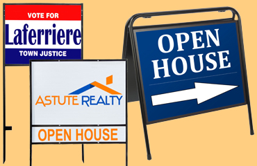 sign frames for realtors