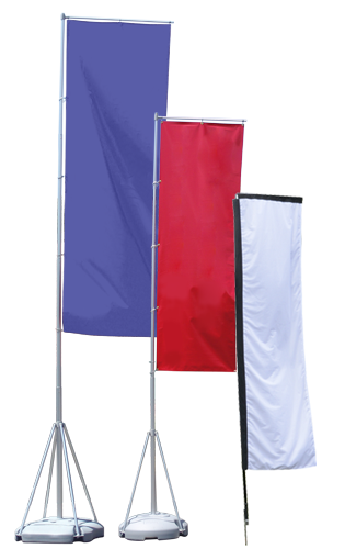 block flags