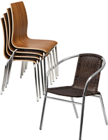 Folding & Stackable Plastic Chairs