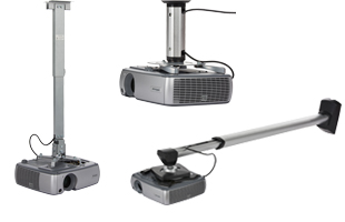 Projector Mounts with Adjustable Lengths