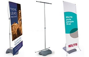 Adjustable Banner Displays