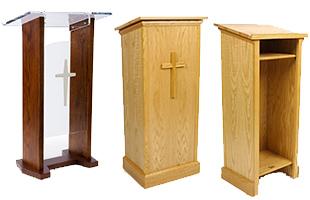 Lecturn Floor Standing Tabletop Amp Convertible Designs