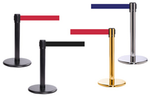 Mini Retractable Stanchions