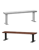 Commercial Indoor Benches for Locker Rooms