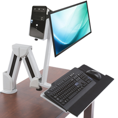 Desk Top Sit-Stand Workstions