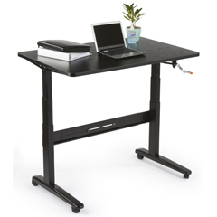 Ergonomic Desk with Height Adjustable Tops