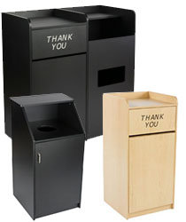 Commercial Trash Cans | Indoor & Outdoor Garbage & Recycling Bins