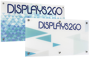 Custom Graphics on Acrylic Signs