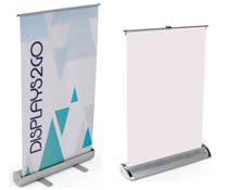 Small Table Top Banners with Graphics