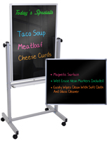 Black Marker Boards for Neon Markers