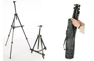Portable Easels Include Travel Cases