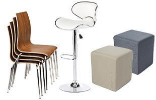 modern commercial seating in a myriad of styles