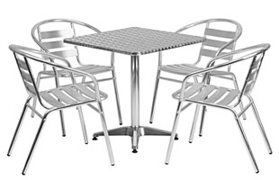 commercial table and chair sets