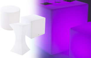 illuminated LED lounge furniture