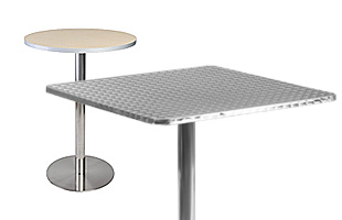 cafe size tables with laminate tops
