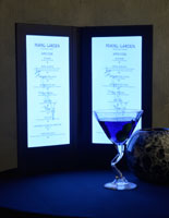 Lighted Menu