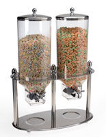 Double Cereal Dispensers