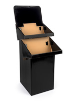 Display Bins for Point of Sale Locations