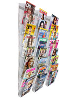 Magazine Rack Wall Mounted