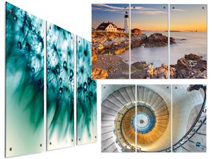 3 Panel Wall Art On Acrylic