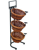 3 Tier Basket Stand with Clips