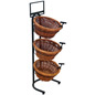 3 Tier Basket Stand with Sign Clips
