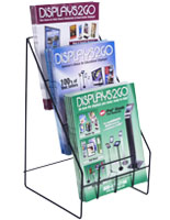 Wire Magazine Holder for Impulse Sales