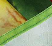 Detail of Sewn Edge